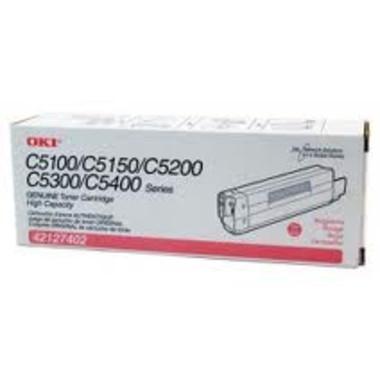 Oki O5100M Magenta Toner Cartridge