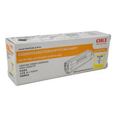 Oki O5250Y Yellow Toner Cartridge