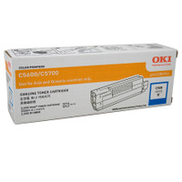 Oki O5600C Cyan Toner Cartridge