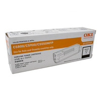 Oki O5800B Black Toner Cartridge