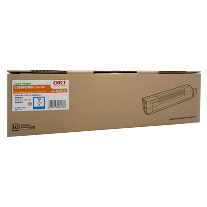 OKI O8600C Cyan Toner Cartridge (Original)