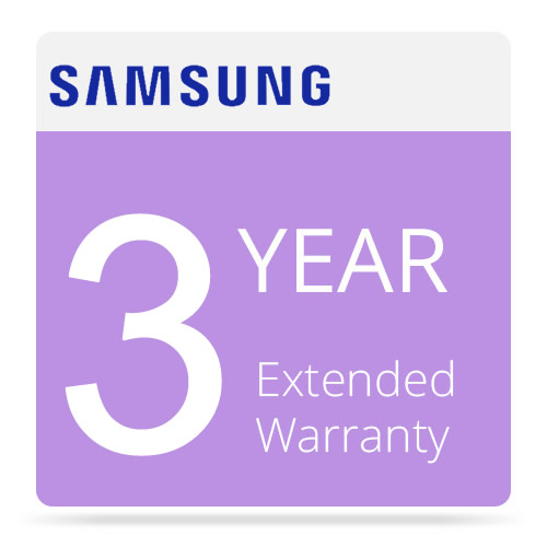 Samsung 3 Year Extended Warranty
