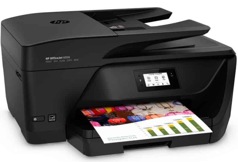 HP Officejet Pro 6956 Colour Inkjet Printer