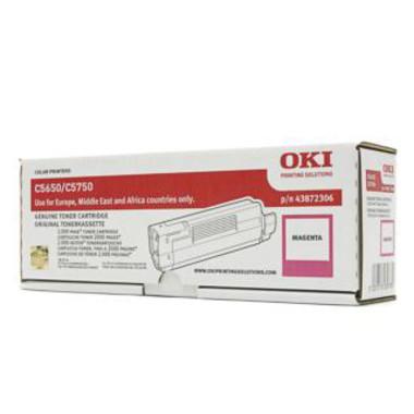 OKI C5650 Magenta Toner Cartridge (Original)