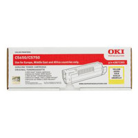 OKI C5650 Yellow Toner Cartridge