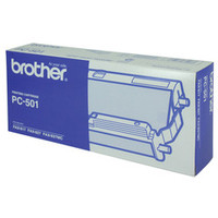 Brother PC- 501 Printer Cartridge + 1 roll