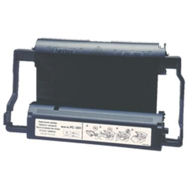 Brother PC-201 Printer Cartridge + 1 roll