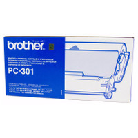 Brother PC-301 Printer Cartridge + 1 roll