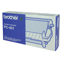Brother PC-401 Print Cartridge + 1 roll