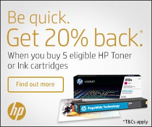 HP Toner Promotion, the more you buy, the more you save!