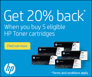 HP Toner Promotions, cash back on HP toner