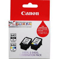 Canon PG645XL and CLI646XL Black And Colour Ink Cartridge Multi Pack - High Yield