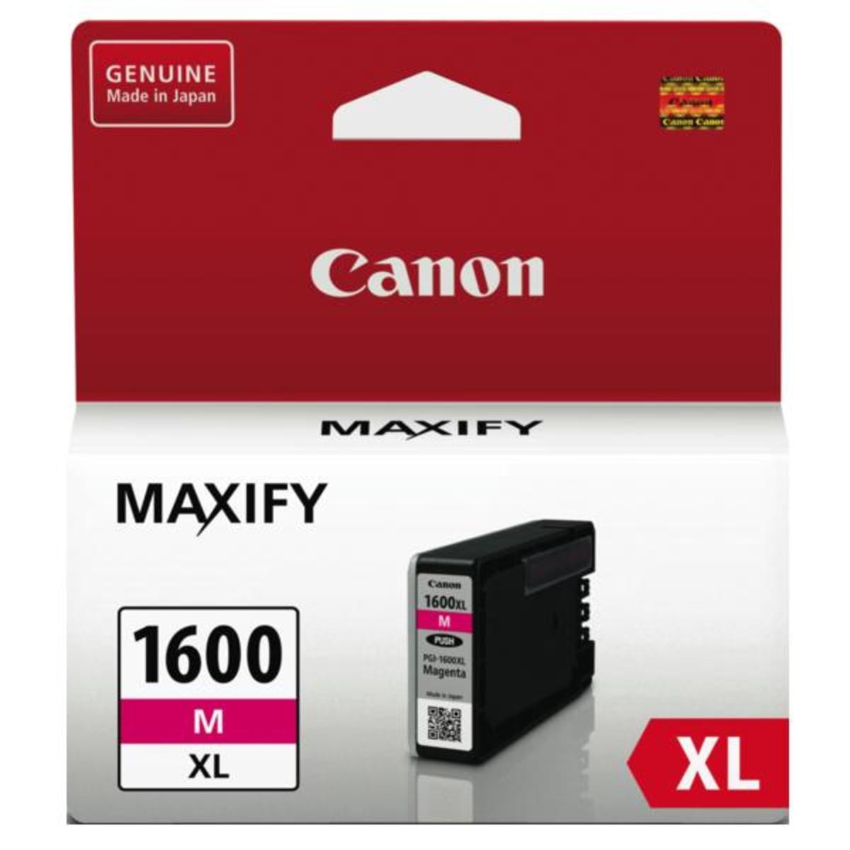 Canon PGI1600XL Magenta Ink Cartridge - High Yield