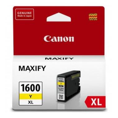 Canon PGI1600XL Yellow Ink Cartridge - High Yield