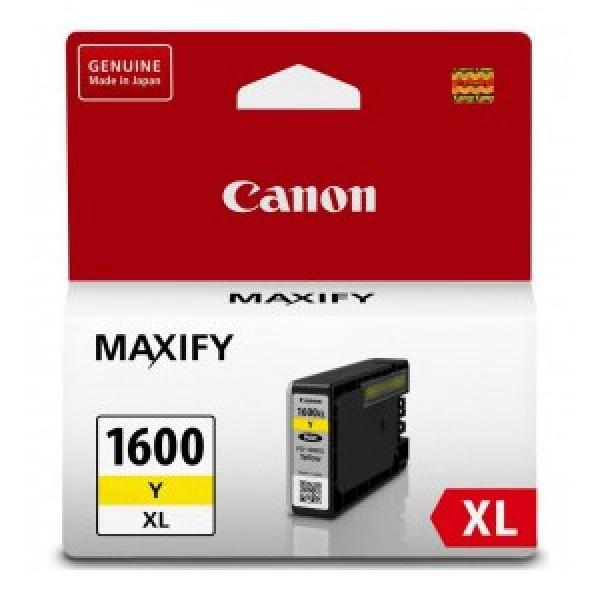 Canon PGI1600XLY Yellow Ink Cartridge (Original)