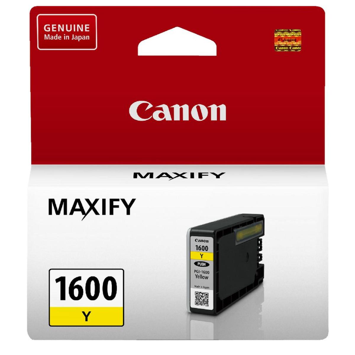 Canon PGI-1600Y Yellow Ink Cartridge