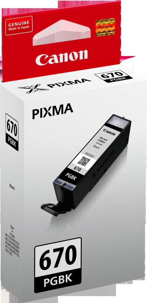 Canon PGI670 Black Ink Cartridge (Original)