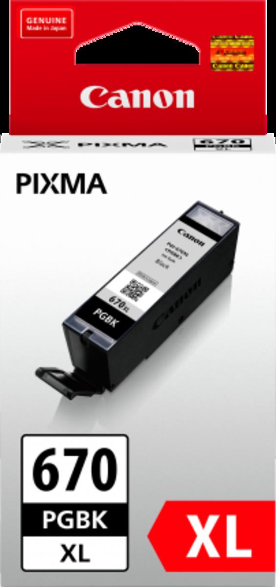 Canon PGI670XLBK Black Inkjet Cartridge