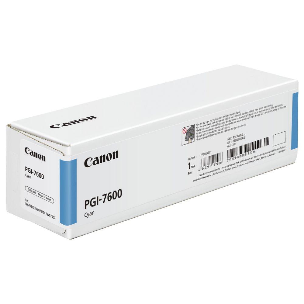 Canon PGI7600 Cyan Ink Cartridge (Original)