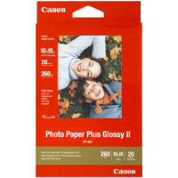 "Canon PP2014X6 Photo Paper Plus Glossy 6"" x 4"" 20 Sheets 260gsm"