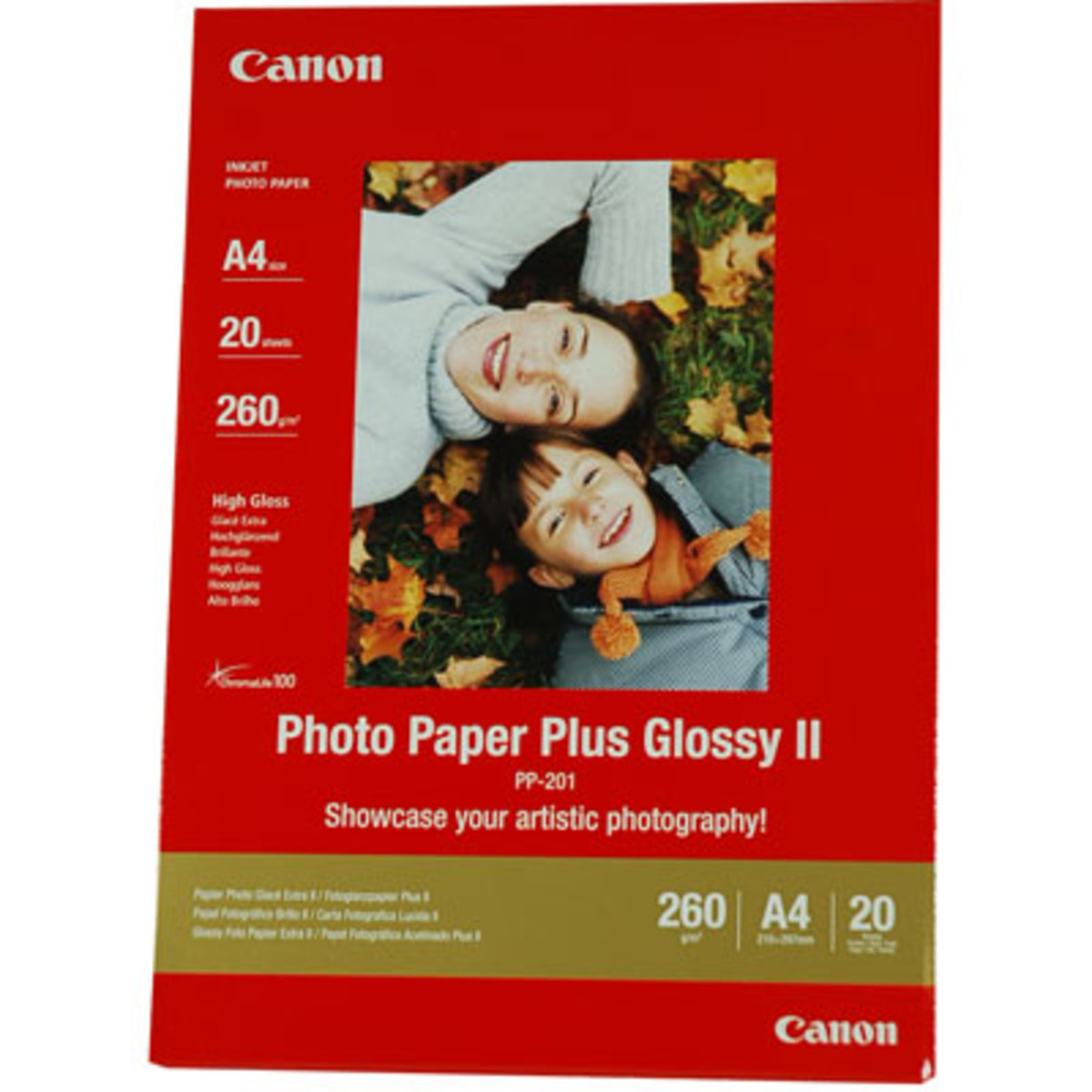 Canon Glossy II Photo Paper Plus (A4 260gsm)