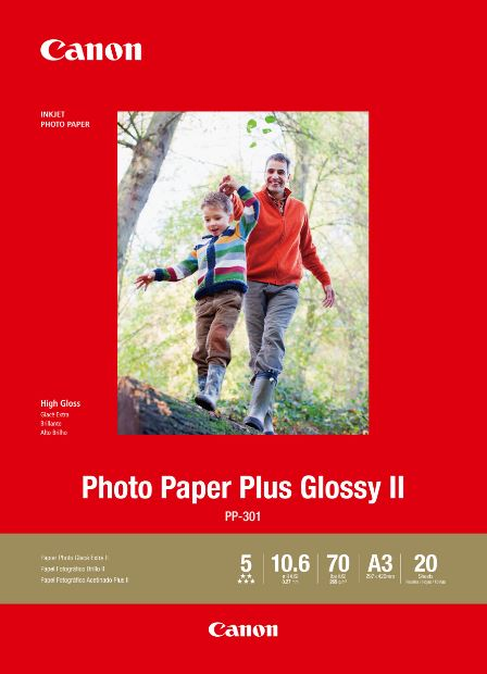 Canon Photo Paper Plus Glossy II - 20 Sheets