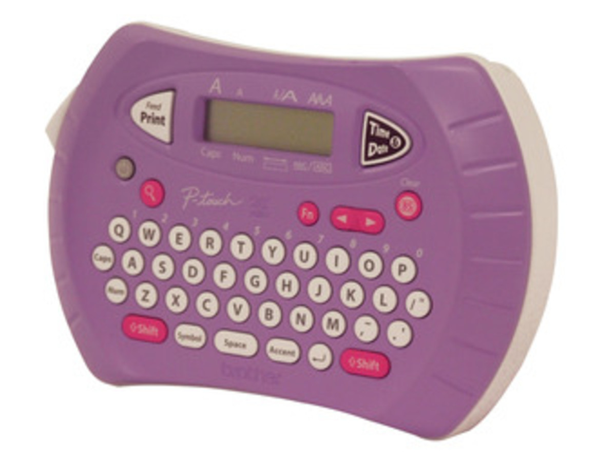 Brother PT-70(LILAC) Label Printer