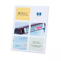 HP LTO2 Ulrium bar code label pack