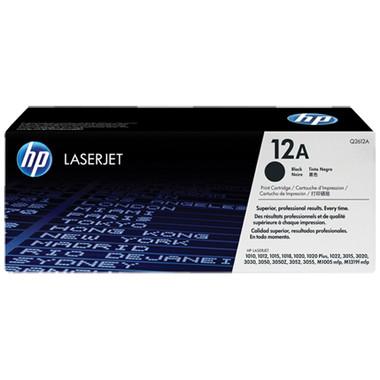 HP 12A Black Toner Cartridge (Original)