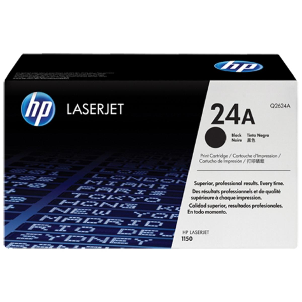 HP 24A (Q2624A) Black Toner Cartridge