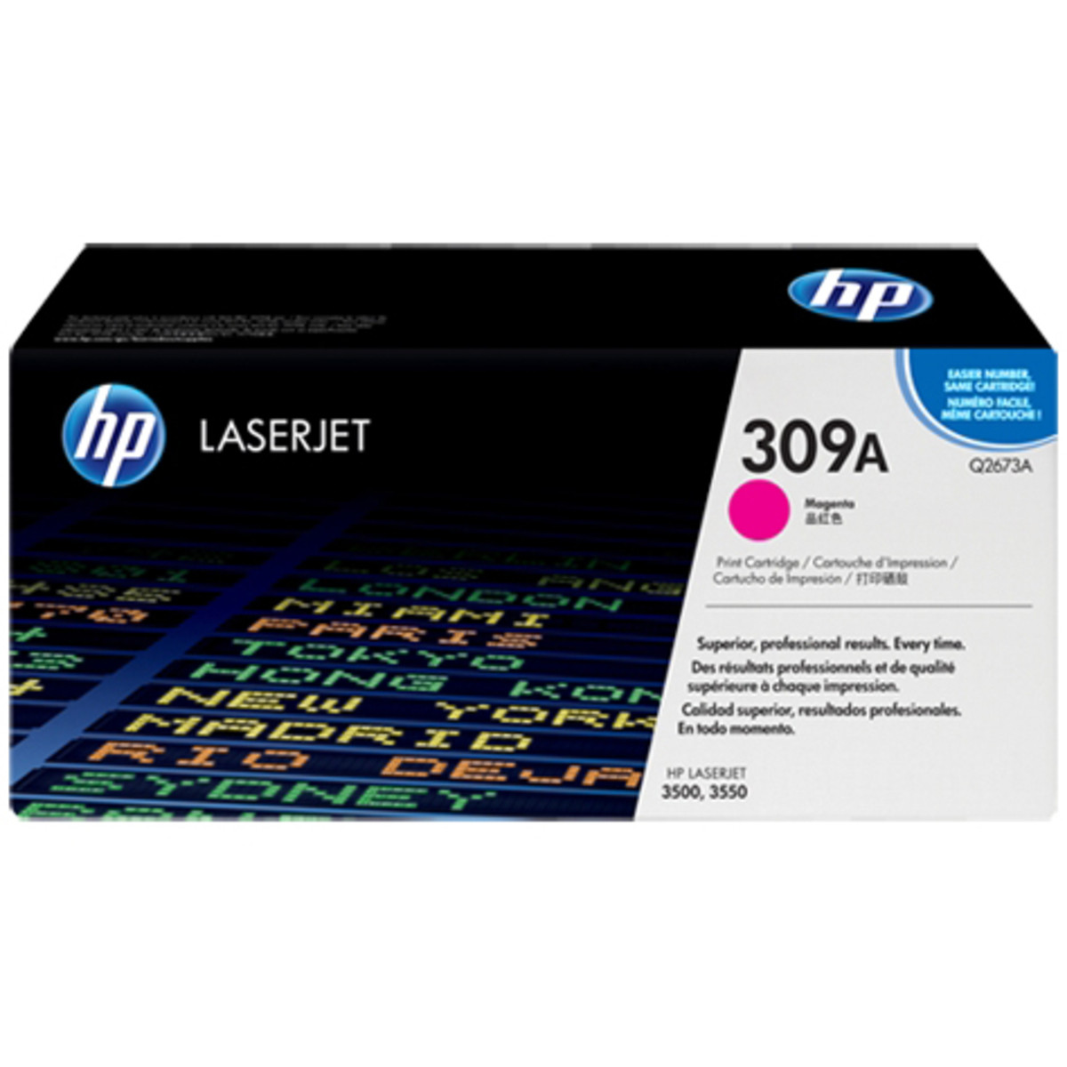 HP 309A (Q2673A) Magenta Toner Cartridge