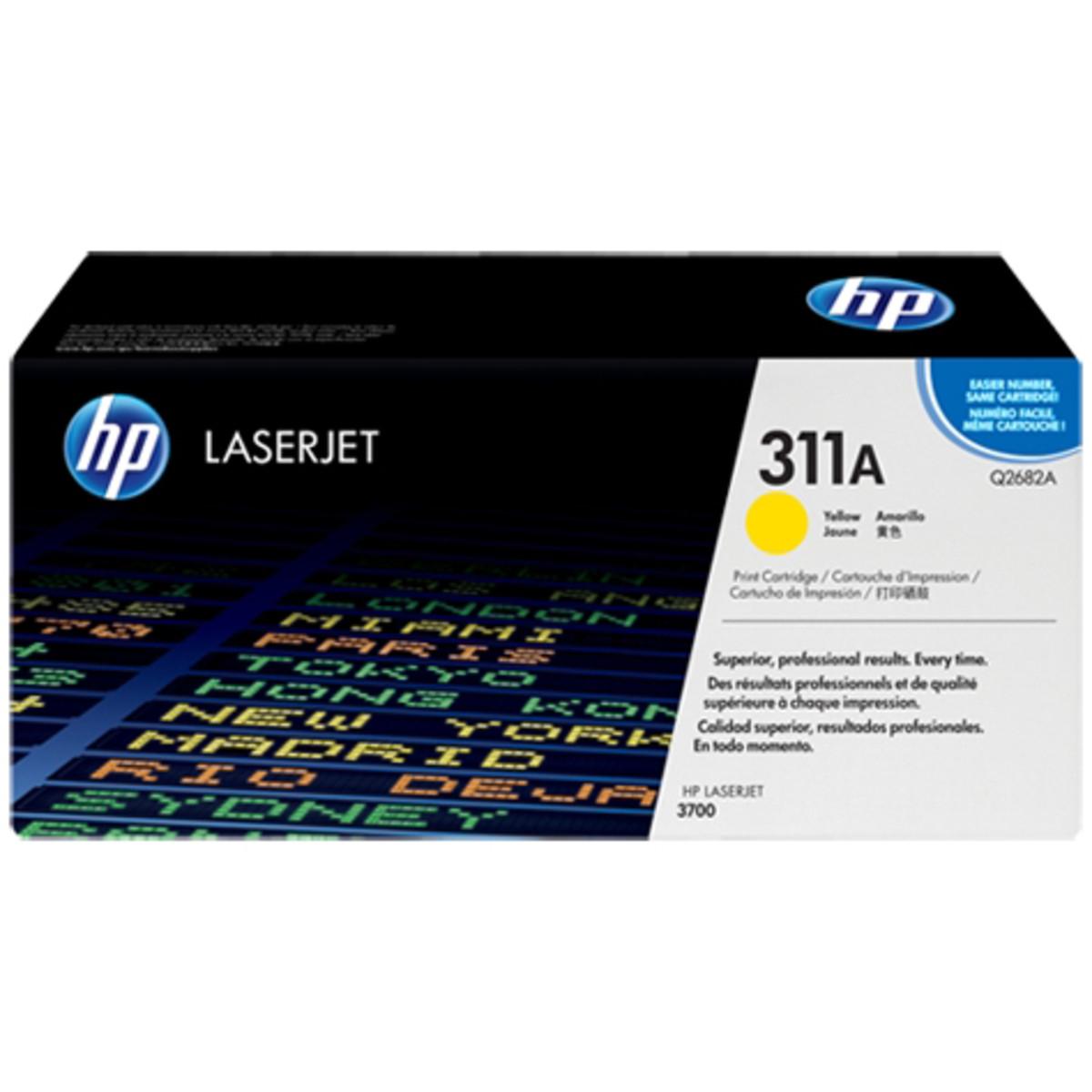 HP 311A (Q2682A) Yellow Toner Cartridge