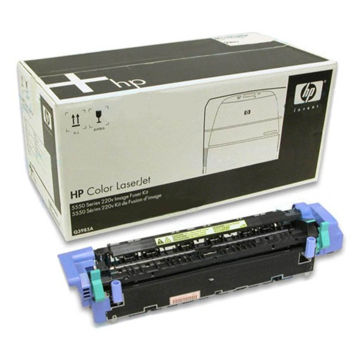 LaserJet 5550 Fuser Assembly Unit - 220 Volt
