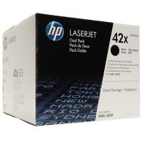 HP 42XD (Q5942XD) Black Toner Cartridges - Multi Pack