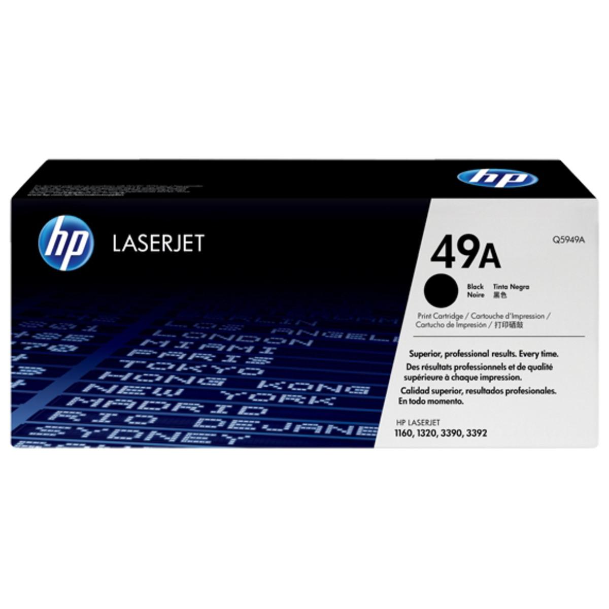 HP 49A (Q5949A) Black Toner Cartridge