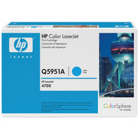 HP 643A (Q5951A) Cyan Toner Cartridge