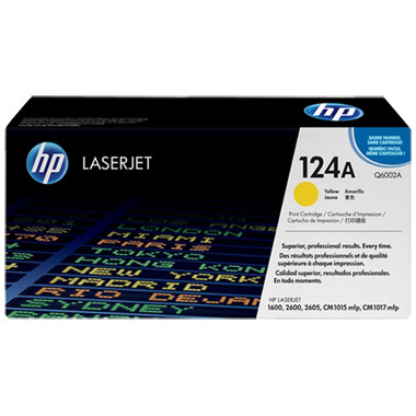 HP 124A (Q6002A) Yellow Toner Cartridge