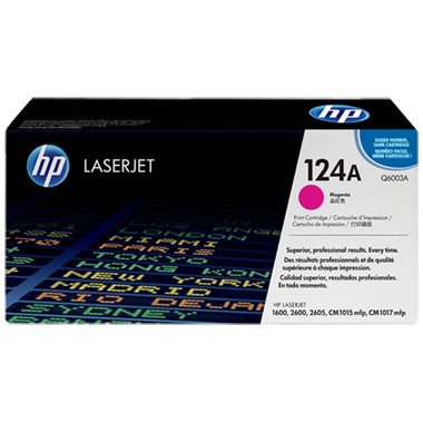 HP 124A Magenta Toner Cartridge (Original)