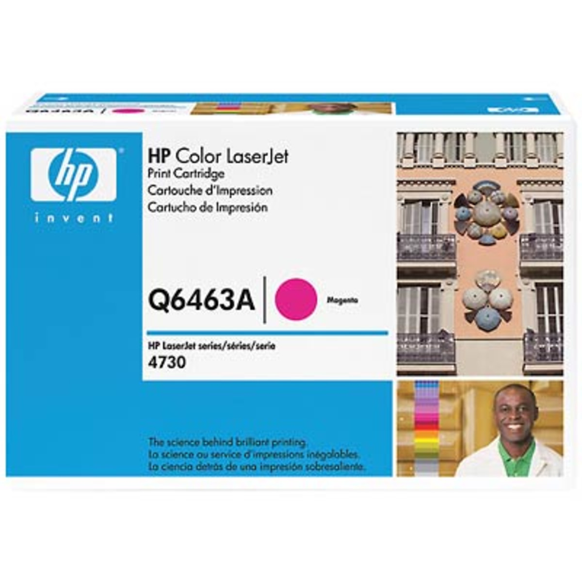 HP 644A (Q6463A) Magenta Toner Cartridge