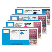 HP 501A (Q6470A) Toner Colour Bundle Pack