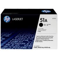 HP 51A (Q7551A) Black Toner Cartridge