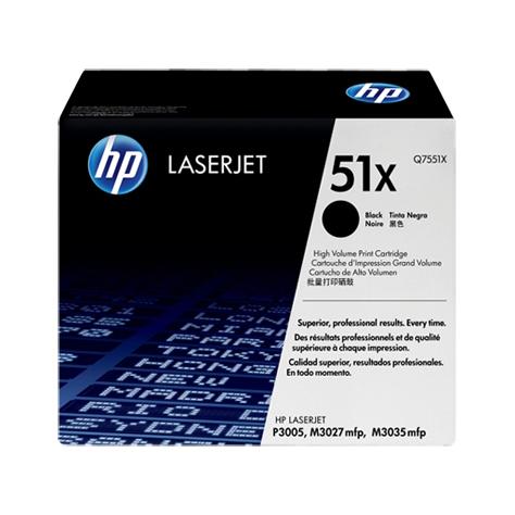 HP 51X Black Toner Cartridge (Original)