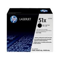 HP 51X (Q7551X) Black Toner Cartridge - High Yield