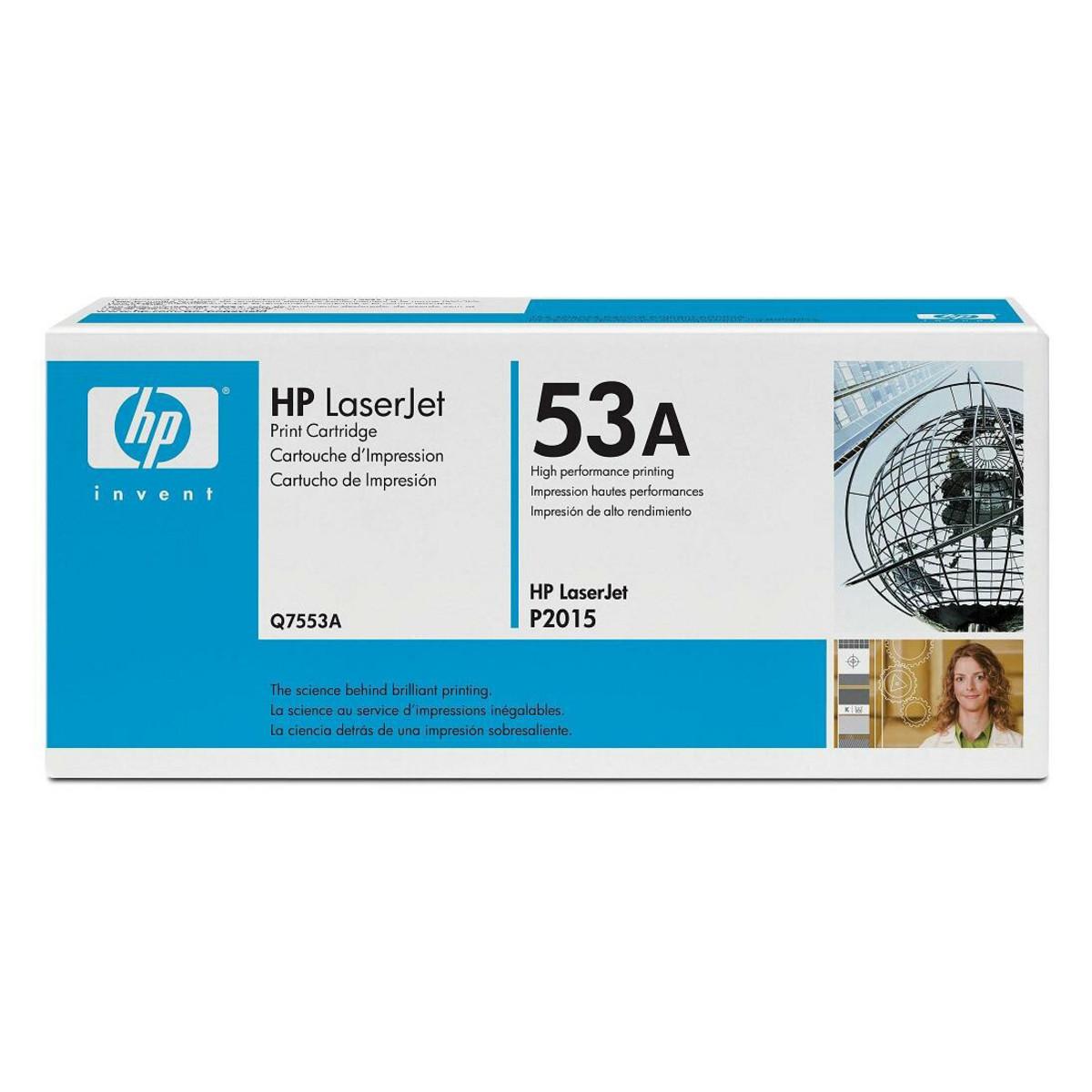 HP 53A (Q7553A) Black Toner Cartridge