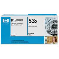 HP 53X (Q7553X) Black Toner Cartridge - High Yield