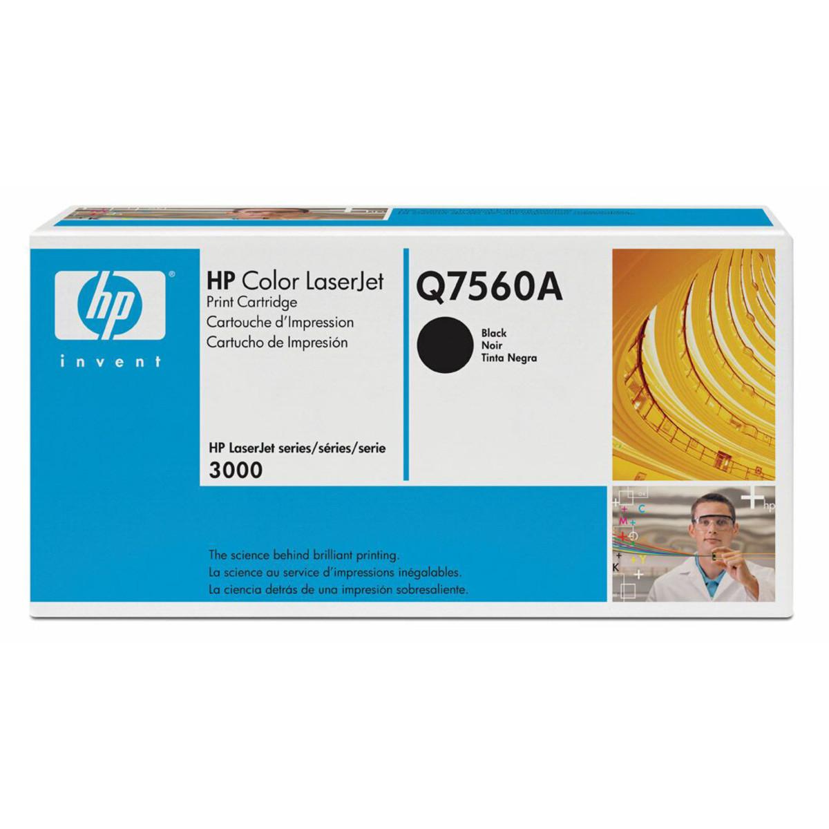 HP 314A (Q7560A) Black Toner Cartridge