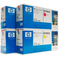 HP 503A (Q7581A) Toner Colour Bundle Pack