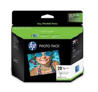 HP 28 (Q8893AA) Tri-Colour Ink Cartridge - Multi Pack