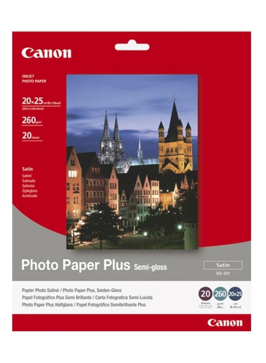 Canon Semi-gloss Photo Paper (A3, 260gsm)