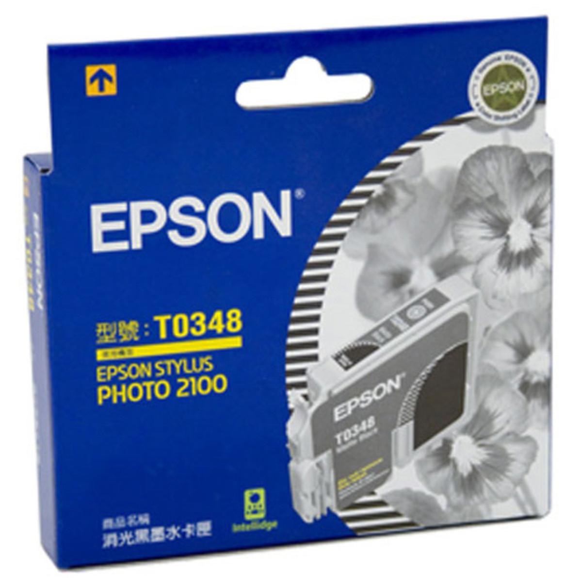 Epson T034890 Matte Black Ink Cartridge